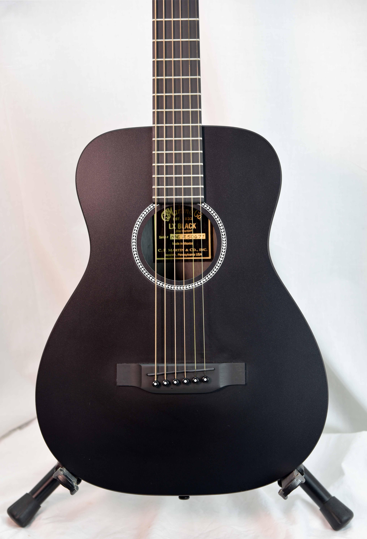 Little Martin LX Black Acoustic Guitar   Secondhand.hk