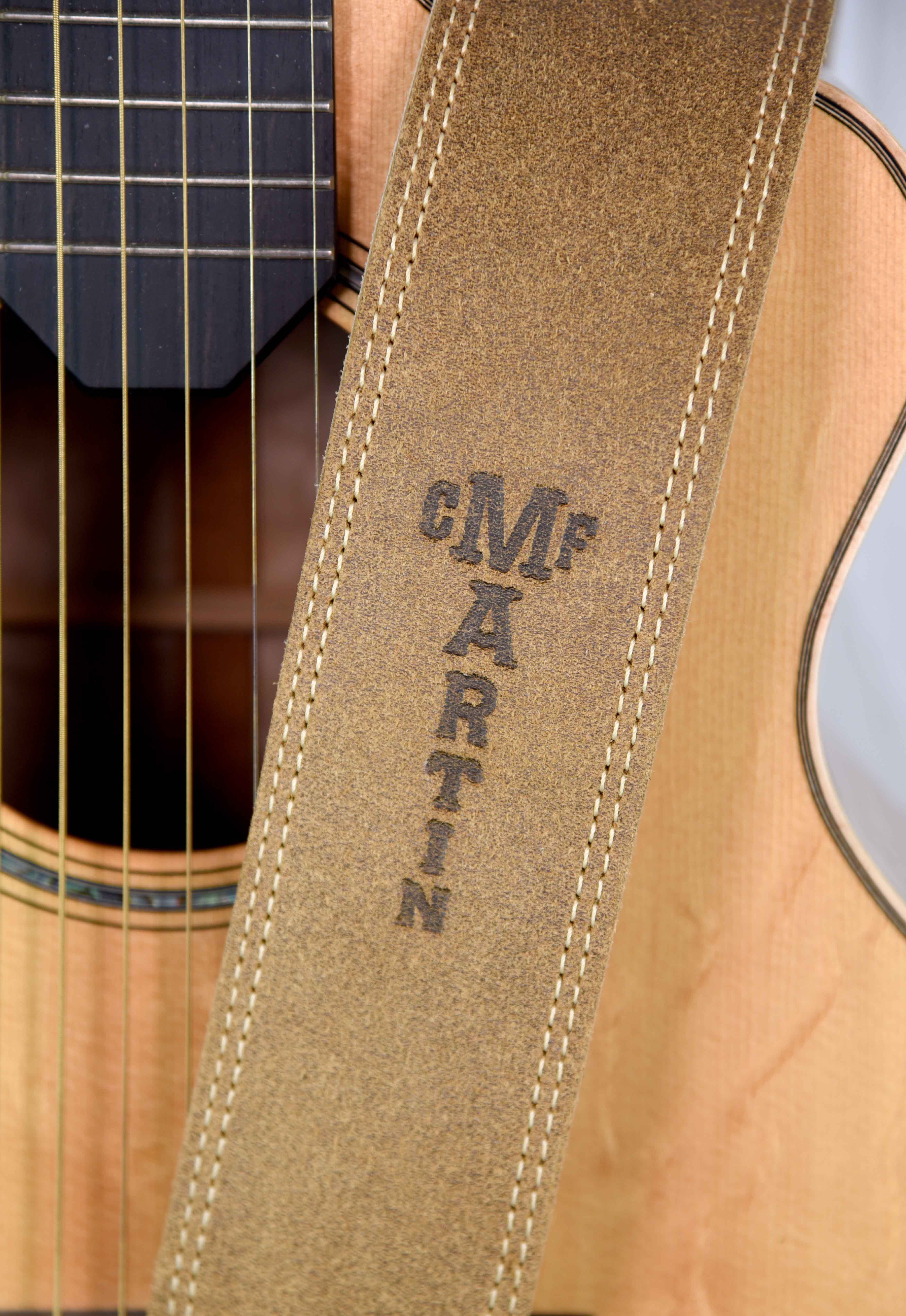 Martin Ball Leather Suede Guitar Strap Distressed Westwood Music Gitar String By Provit Musik Slm